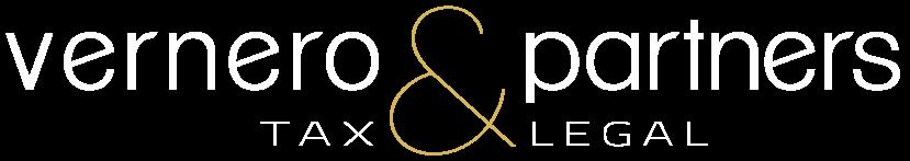 Vernero & Partners Logo negativo